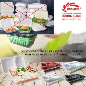 Cảnh báo nguy cơ ung thư từ hộp xốp đựng thực phẩm nóng