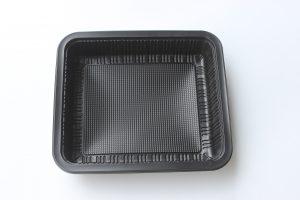 Khay đựng thức ăn nhanh đen 500 Khay/Thùng